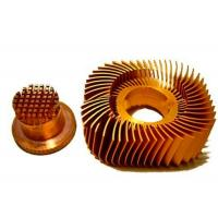 Anodized LED Copper Heat Sink Precision Plated Nickel Surface Manufactures