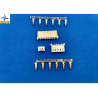 Sigle Row molex 5264 equivalent Wire To Board Connector, 2.5 Mm Pitch Crimp Connector Manufactures