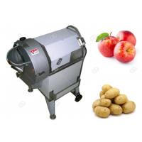 China 304  Stainless Steel Fruit And Vegetable Cutting Machine With Cuber Slicer Shredder Shape on sale