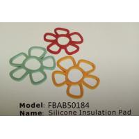 FBAB50184 for wholesales flower shape mini silicone insultion pad Manufactures