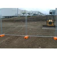 Hot Dipped Galvanized Wire Mesh Fence Removable Temporary Fence Manufactures