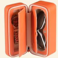 China Best Selling custom made leather Promotional Sunglass Case on sale