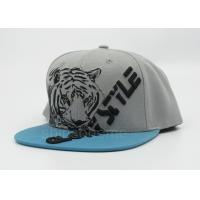 Cool Printed Gray Sun Baseball Cap Snapback Adjustable For Party Manufactures