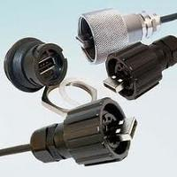 Sun-proof industrial ethernet rj45 usb Male-Female connectors for street lamps Manufactures