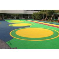 Office Buildings Outdoor Playground Surface Material Anti Slip Flooring Manufactures