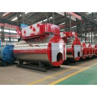 Wood High Efficiency Gas Steam Boiler Heating System / Electric Steam Boiler 10 Ton Manufactures