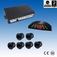 Competitive and promotional cm accuracy led front and rear parking sensor Manufactures