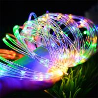 100m Twinkling Outdoor Patio String Lights Golden PVC Rubber Cable Type Manufactures