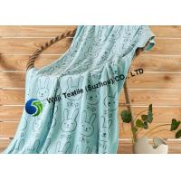 China Bunnies Patterned Microfiber Cleaning Towels Ultra-strong Absorbency on sale