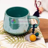 water mug ceramic cup coffee cup breakfast cup milk mug pearly-lustre electroplate glaze Manufactures