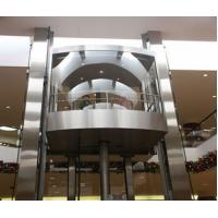 Passenger Gearless Traction Hydraulic Elevator Lift With Alarm Button  And Buzzer Manufactures
