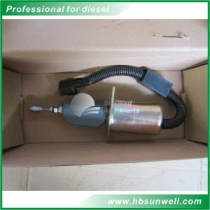 QSL9 6CT engine fuel shut off 24v Fuel Pump Solenoid 37Z36-56010A 3977620 Manufactures