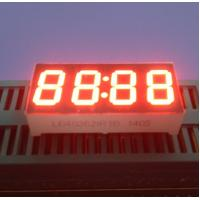 "Super bright Red Yellow White 4 Digit  0.36"" Common Anode 7 Segment Display 30 X 14 X 7.2 Mm Manufactures"