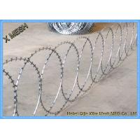 razor wire with clips