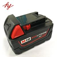 Milwaukee 18volt 9.0Ah Capcacity li-ion power tool battery  corldess impact drill battery lithium hammer battery Manufactures