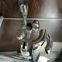 stainless steel elbow 50.8mm size 90 degree bend with cheap price Manufactures