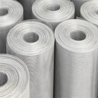 China Stainless Steel Knitted Wire Mesh Expanded Liquid Filter Silver Silver on sale