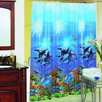 Factory Supply 2013 New Design Printed PEVA Shower Curtain Manufactures