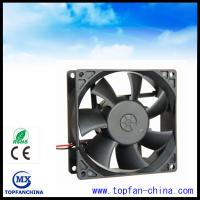 Low Noise Waterproof Ball Bearing DC Motor Fan With 6000 Rpm Speed Manufactures
