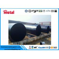 ASTM A53 GR.B FBE Epoxy Coated Carbon Steel Pipe DN200 THK ANTI CORROSION Manufactures