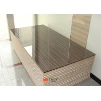 Quality Textured Embossed 9mm / 16mm / 18mm MDF Board For Cabinets Shutters for sale