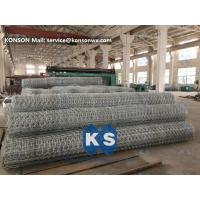 Galvanized Wire Netting Gabion Mesh Machine For Chemical Engineering Industry Manufactures
