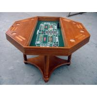 China 4 In 1 Casino Game Table For Club , Poker Dining Table With Veneer Roulette on sale