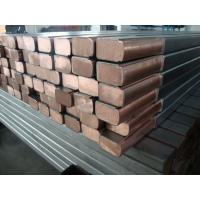 China Stainless Steel Custom Metal Components Clad Copper Busbar For Electroplating on sale