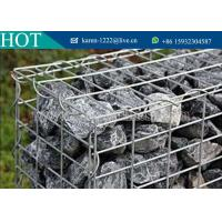 Welded Gabion Box /Stone Cages/Gabion Retaining Wall For Garden Fence For Sale Manufactures