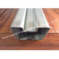 China Galvanized / Powder Coating Metal Casting Products Stainless Steel Channel / Edging wholesale