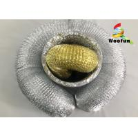 Fireproof Round Aluminum Foil Ducting , Single Layer Flexible HVAC Duct Manufactures