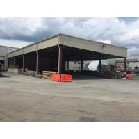 Extra Warehouse Steel Structure For Stocking With Normal Paint Plus Color Steel Panels Manufactures