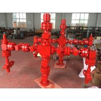 China Forging Type Production Tree Oil And Gas , Surface Wellhead And Christmas Tree on sale