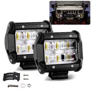 4x4 UTV Led Light Bar 9621T 4000 LM Lumen For Truck / Trailer / Tractor Manufactures