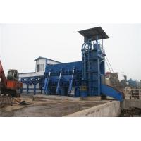 China Square Sheet Hydraulic Scrap Shear / Steel Shearing Machine 900mm Blade on sale