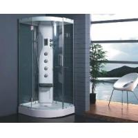 Tempered Glass Shower Cabin with Computer Control Mjy-8054 Manufactures