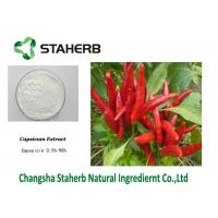 Capsaicin 1%-95% Standard Reference Materials Capsicum Annuum Extract Manufactures