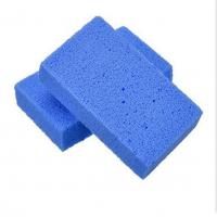 Blue color pet hair pumice stone, groomer's stone Manufactures
