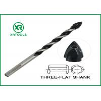 Color Painted Metric Masonry Drill Bits Flute High Corrosion Resistance Manufactures