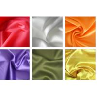 China 100% Textile Polyester Knit Fabric Satin Shining Surface 50D * 70D Yarn Count on sale