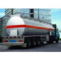 Liangxiang ADR Certificate oil tanker trailer air suspension 42000liter fuel tank trailer