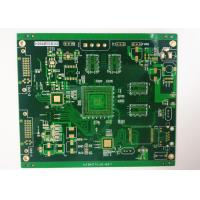 Multilayer Power Supply PCB Rigid Printed Circuit Board ENIG 2 U' White Silkscreen Manufactures