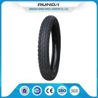 Wear Resisting Motor Cycle Tires 8PR Rib Pattern Good Air Tightness 7-10MPA Manufactures