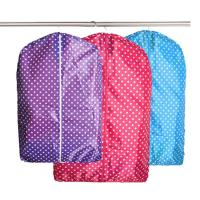 China Recyclable Folding Non Woven Garment Bag For Cloth Dust Cover Storage on sale