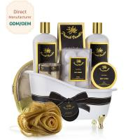 China Jasmine Fragrance Relaxing Bath Gift Sets , Luxury Bath And Body Gift Sets on sale