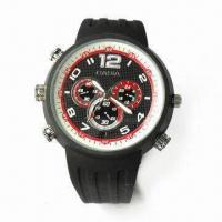 Divers Watch with Camera, 1,280 x 960p Video Resolution, and 90 to 120min Recording Time Manufactures
