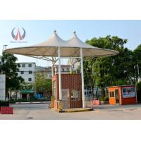 Buy cheap Gate Roofing Cover Tension Fabric Structures , Fabric Roof Structures For Outdoor Store from wholesalers