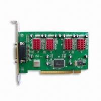 Video Capture Card with H.264 Compression Format and Four-channel Video Input Manufactures