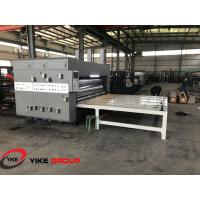 Chain Feed Printer Slotter And Die Cutter Machine High Working Efficiency Manufactures