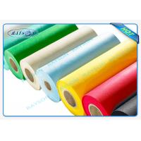 Environment Friendly Breathability  Spunbond Non Woven Pat Table Clothes Manufactures